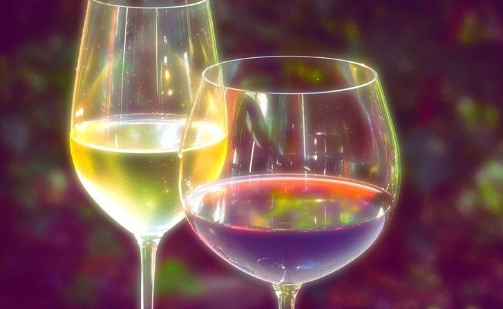 ノンアルコールカクテルとワイン