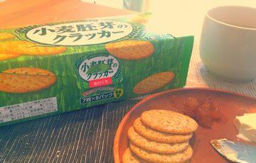 森永・小麦胚芽のクラッカー