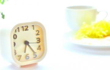 朝食にパウチパックゼリー
