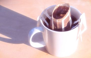 ドリップタイプのカフェインレスコーヒー