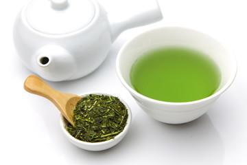 あたたかい緑茶